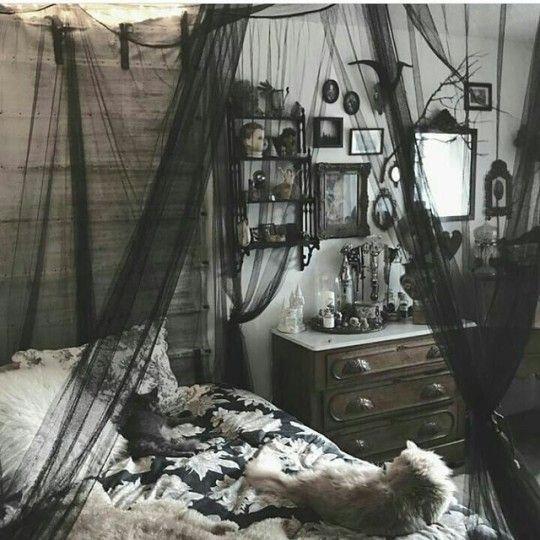6 Tumblr Goth Home Decor Gothic Room Gothic House