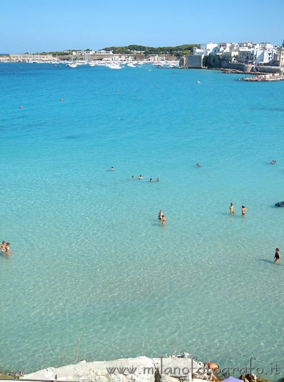 The sea in front of Otranto (Lecce, Italy). Visit web site for more pictures!