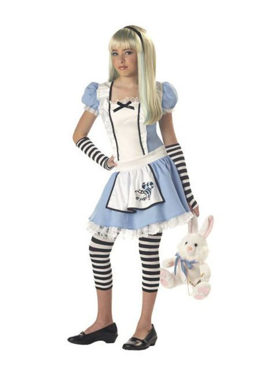 Halloween Teen Alice In Wonderland - Kids Costume