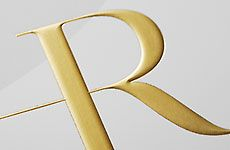 Embossing, goldfoil...