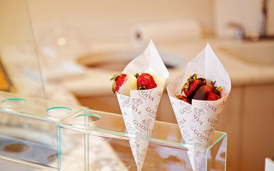 Godiva chocolate covered strawberries