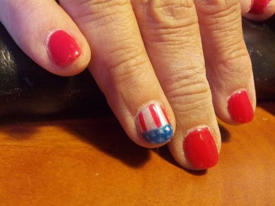 www.sophisticatednailsandwaxing.com  flag nails