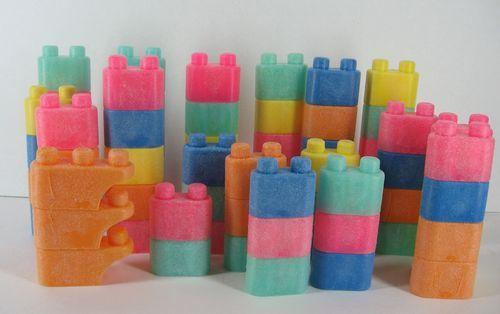 Tuff Stuff Wonder Blocks Vintage Mattel 75 Building   eBay $65.00