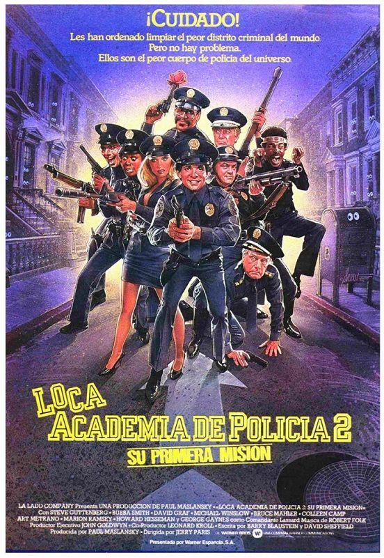 Loca Academia De Policía 2 Su Primera Misión 1985 Tt0089822 Car Esp 映画 ポスター ポスター 映画