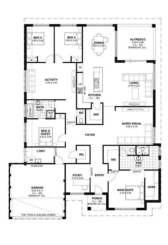 Titan Homes Floor Plans Amazing Design