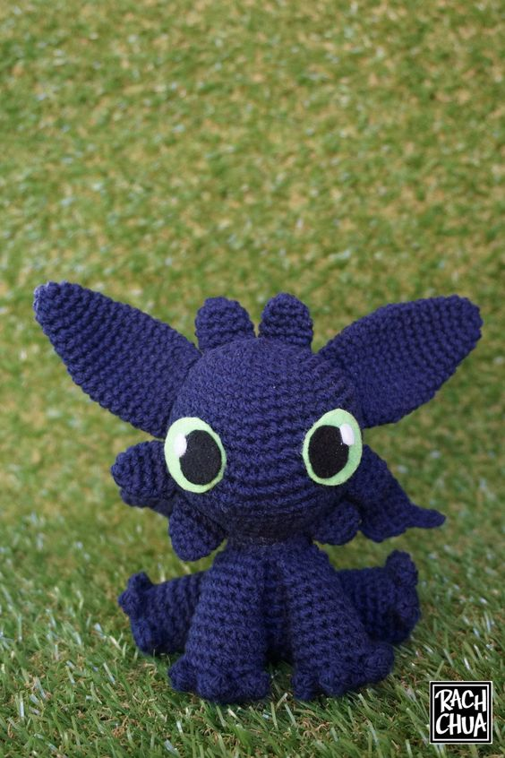 Step-By-Step Tutorial: Toothless from How To Train Your ...