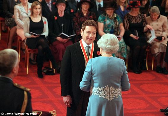 Hamlet: The actor impressed the Queen first over 30 years ago when she saw him play Hamlet at RADA