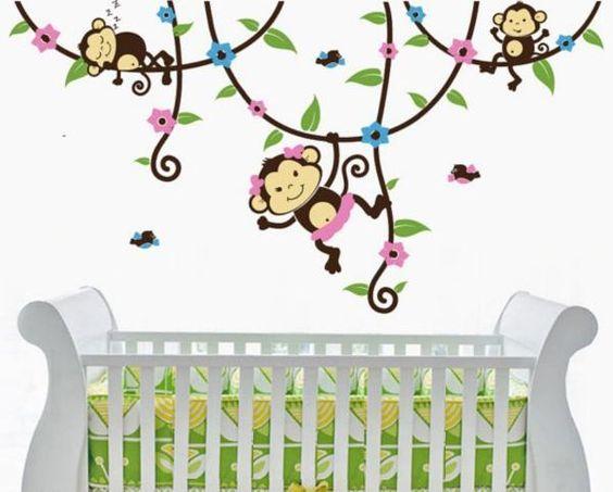 Vinilos decorativos para bebes ads kids stuff pinterest for Vinilos decorativos para ninas