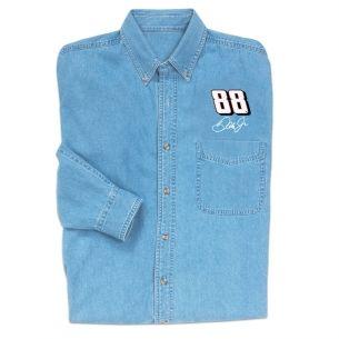Dale Earnhardt Jr. Long Sleeve Denim Shirt | Raceline Direct