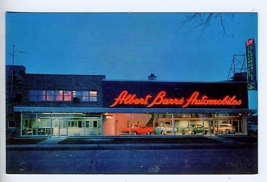 1956 Albert Barre Automobiles Ltd Chevrolet Oldsmobile