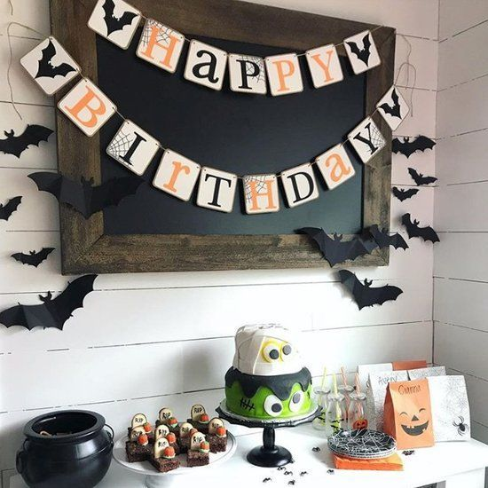 Halloween Birthday Party Ideas For Kids Halloween Themed Birthday Party Halloween Birthday Party Decorations Kids Halloween Birthday Party