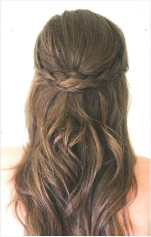 Frisuren Halb Zur Halfte Fur Mittlere Haare Jugendweihe Dutt Langeshaar Frisuren Dutt Frisuren Frisu Down Hairstyles Wedding Hair Down Half Up Hair