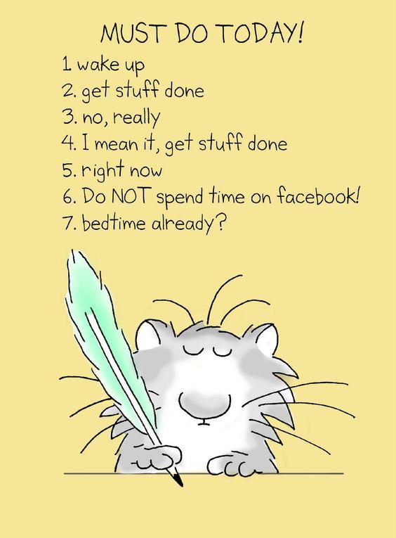 Twitter / SandyBoynton: Today, I made a TO DO list. ...