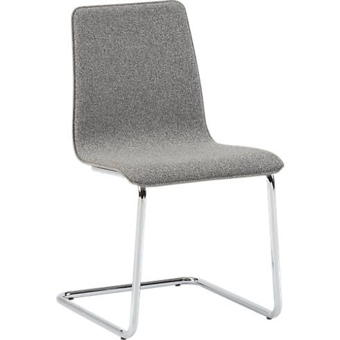 like the legs, not wild about the seat fabric - pony tweed chair in dining chairs, barstools | CB2