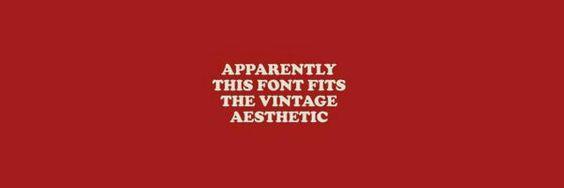 Red Vintage Aesthetic Header