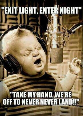 Cutest thing ever... A parenting win, if a little kid knows every word to Metallica or any other metal band!