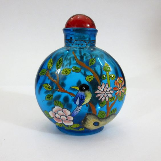 Meticulous-Color-Painting-font-Crystal-Snuff-Bottle-Traditional-Chinese.