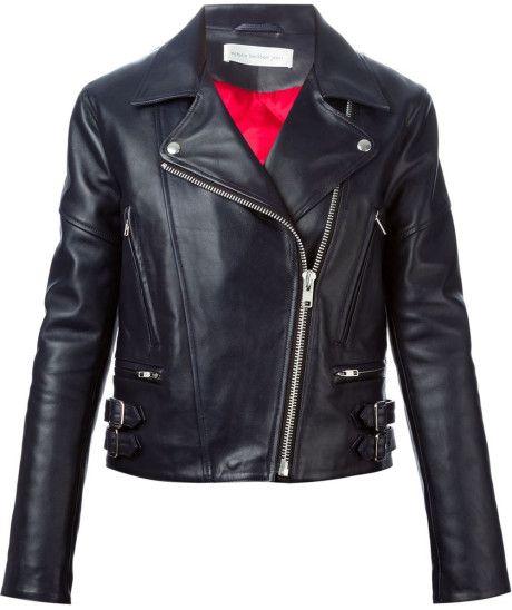 Love this: VICTORIA BECKHAM Biker Jacket @Lyst