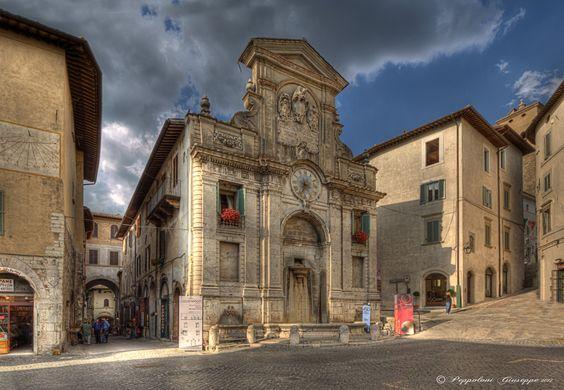 Spoleto ☺ (PG) by Giuseppe  Peppoloni,
