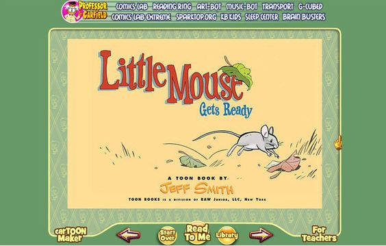 Mrs. Lodge's Library: Toon Books
