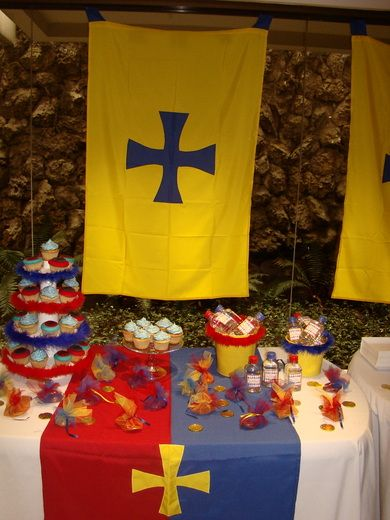 king arthur's knights Birthday Party Ideas: