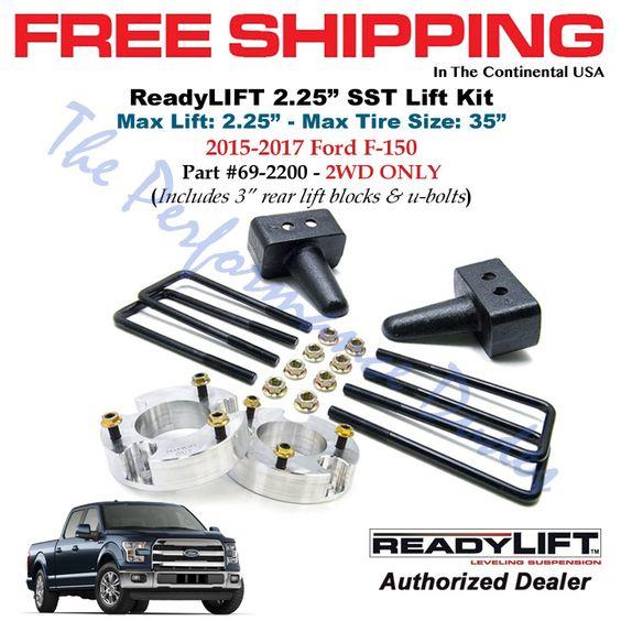 ReadyLift 69-2200 2.25 SST Lift Kit