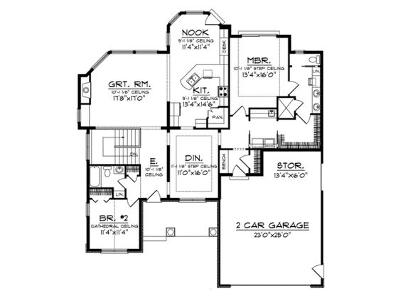 House plans pantry and laundry rooms on pinterest for Ranch floor plans with mudroom