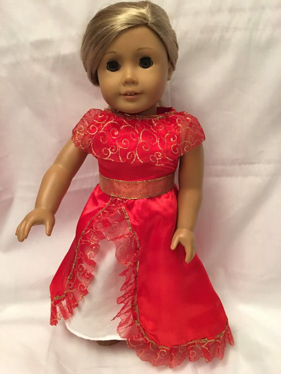 American Girl Doll Princess Elena of Avalor by RollingRockDolls