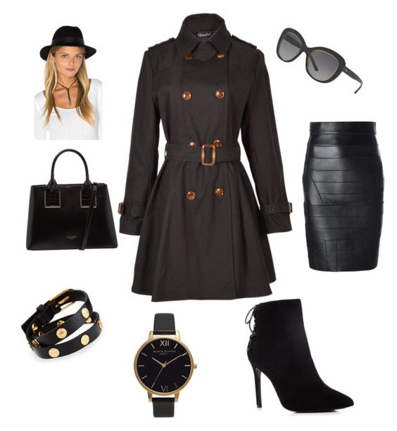 """Black friday "" by susanne-ahlenius ❤ liked on Polyvore featuring Relaxfeel, Ted Baker, Ralph Lauren, Charles David, RVCA, Tory Burch, Olivia Burton and Dsquared2"