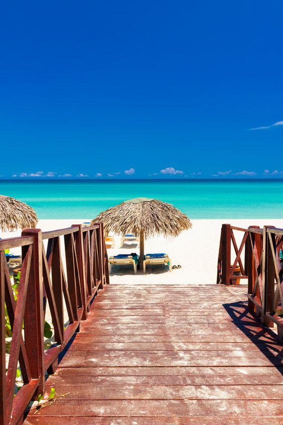 Varadero, Cuba...de las mejores aguas en que he nadado