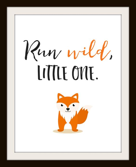 FREE Nursery Printables, Get a Set of 4 FREE Animal Printables, Fox, Racoon, Bear, and Owl- Instant Download for Free Printable: