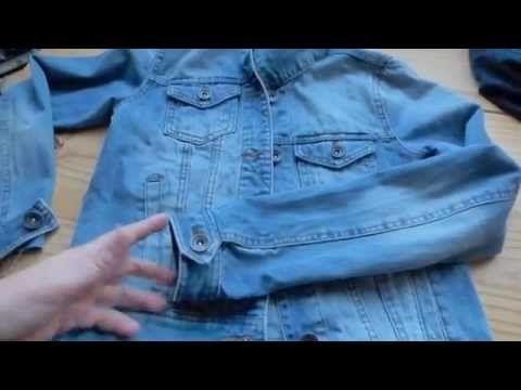 YouTube raccourcir les manches d'une veste | Diy veste, Diy