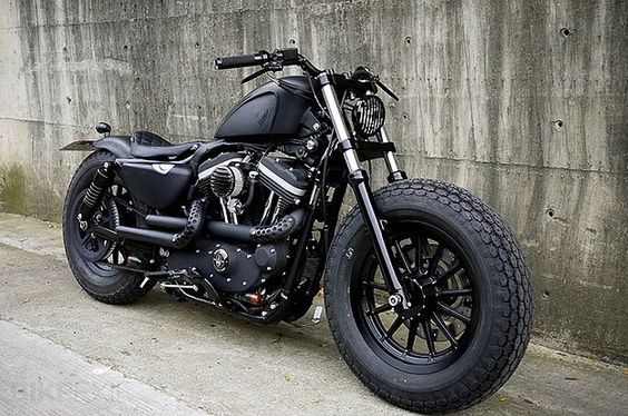 Another Custom HD Sportster! This is no stock bike!