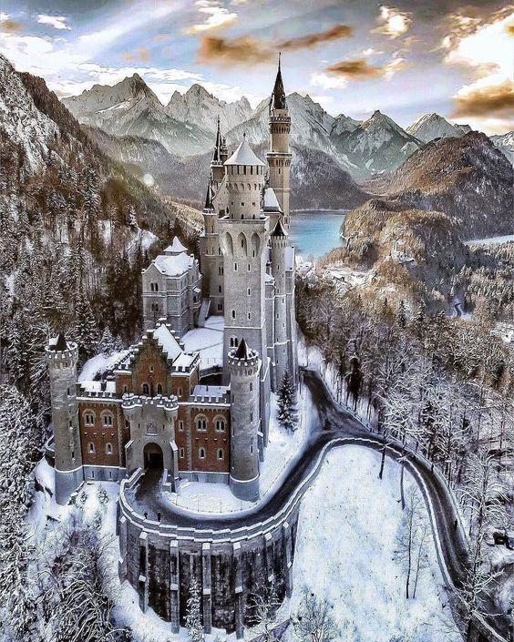 bfa99afe671f64 Нойшванштайн - замок на південному-заході Баварії - BBTour.info
