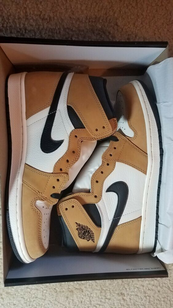 Air Jordan 1 Retro High Og Rookie Of The Year 555088 700 Golden