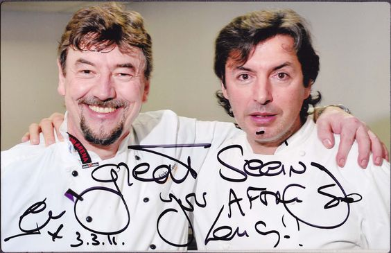 I have met and worked with    Jean-Christophe Novelli a few times at the BBC Good Food Show and also helping him with several large lunch functions.  He's a charming man and a pleasure to work with. #jeanchristophenovelli #chefkevinashton #bbcgoodfood #celebritychef