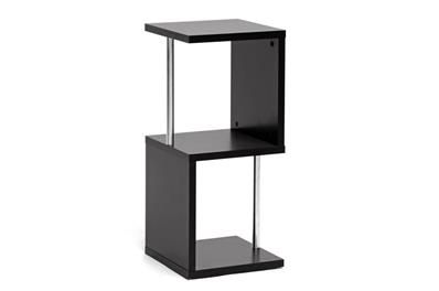 Baxton Studio Lindy Dark Brown Modern Display Shelf (2-Tier) |  | Display shelf | Display shelves | Book shelf