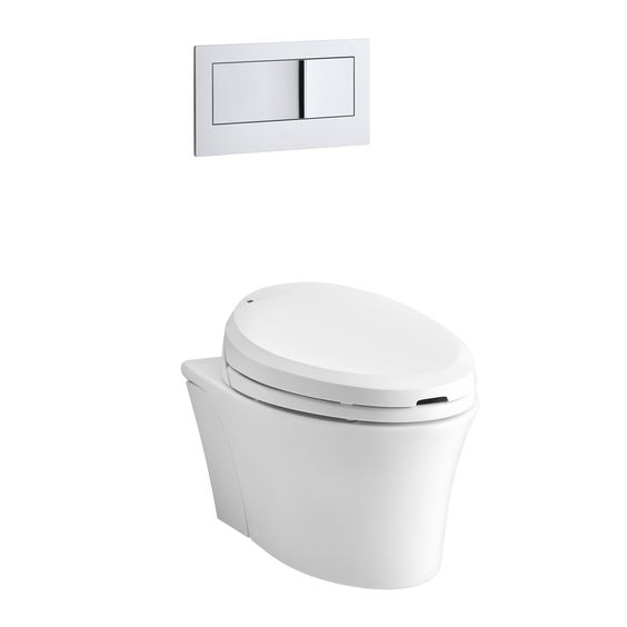 Veil Wall-Hung Elongated Toilet Bowl