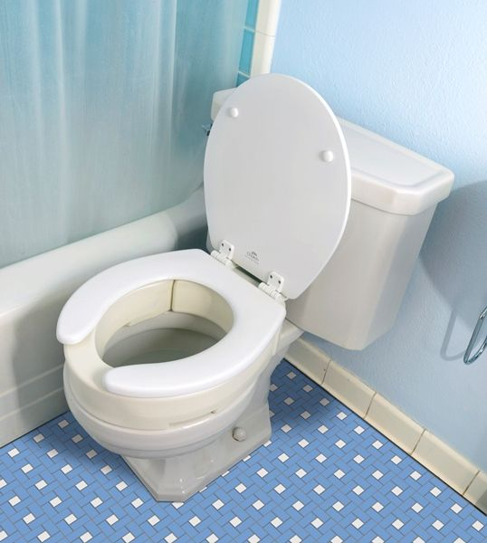 Hinged Elevated Toilet Seat Raised Toilet Seat With Hinge