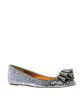 Ted Baker Sampto Glitter Flat Shoes