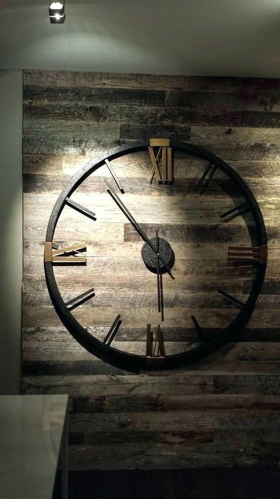 Oversized Modern Wall Clocks Oversized Modern Wall Clock Baroque Miller Clocks In Hall Contemporary Wit Rustic Wall Clocks Wall Clock Modern Vintage Wall Clock