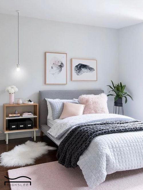 pink grey bedroom idea bohemian carpet boho bedroom design ...