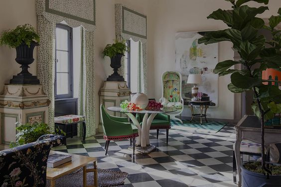 Decorating Advice, Green Is Neutral, Interior Design by Summer Thornton Design: