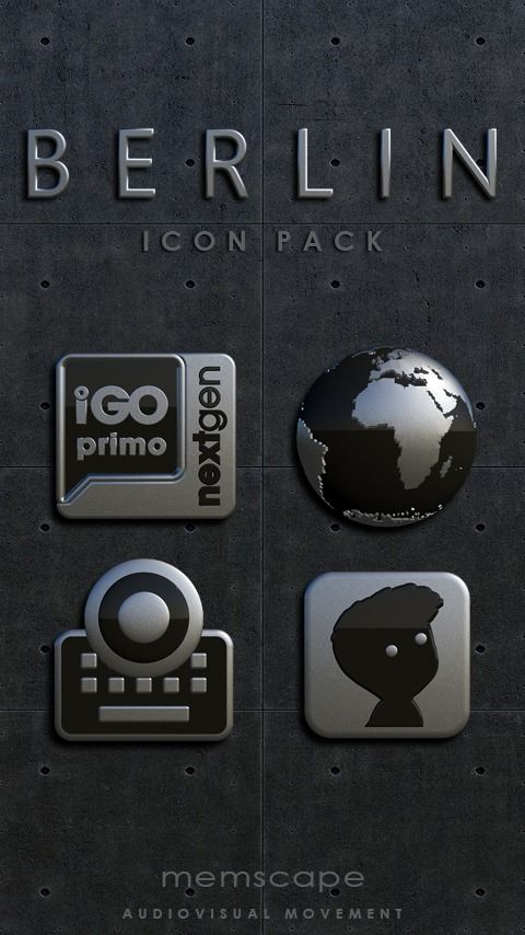 Berlin Icon Pack Icon Pack Android Icon Pack Custom Icons