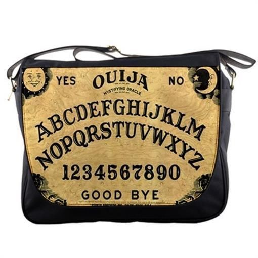 Vintage Ouija Witch Board Photo Messenger Bag Classic Cross Body #CDG