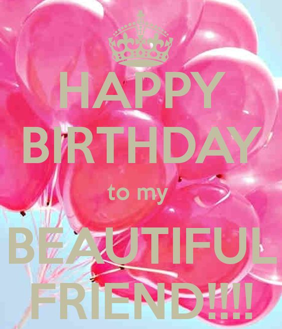 Birthday Quotes For A Friend On Her Birthday: Happy Birthday Beautiful Friend --- Http://tipsalud.com