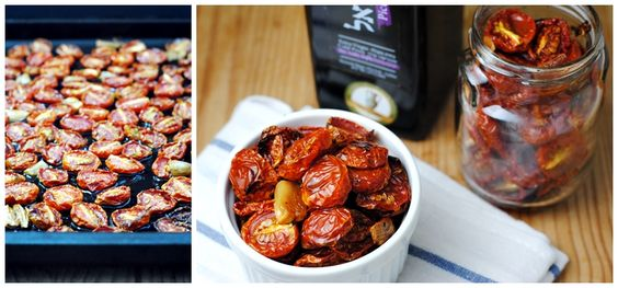 Slow-Roasted Tomatoes and 10 things to do with them! (Warning: They're addictive!)
