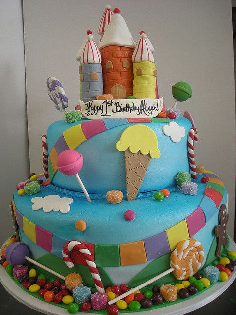 Cakes Design And Candyland On Pinterest