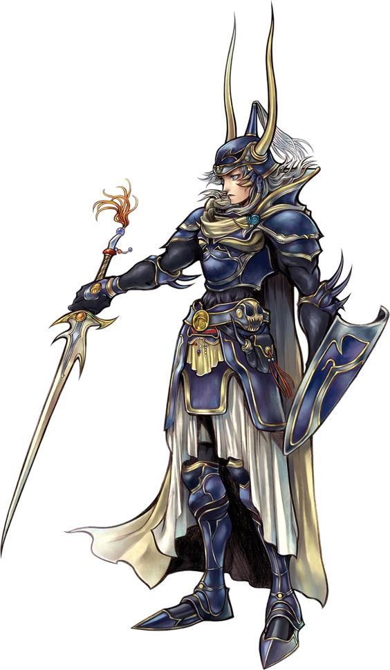 Fantasy Character Dissidia Warrior of Light