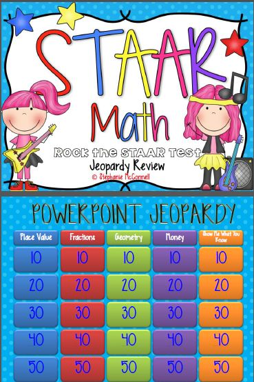 7th Grade Math Staar Review Games on Math Staar Jeopardy 4th Grade